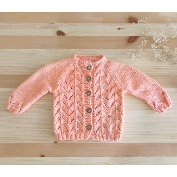 Elisa Cardigan - Papaya