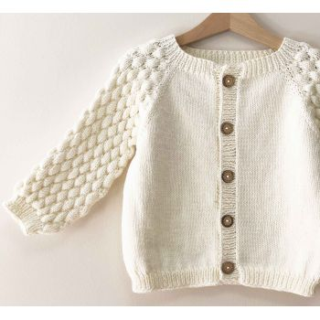 Adele Cardigan - Snow