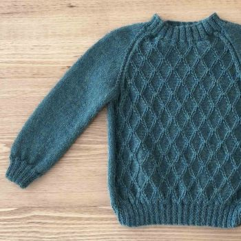 Baby Alpaca Ivan Sweater - 100% Baby Alpaca