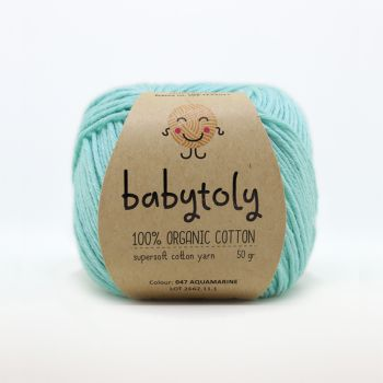 Organic Cotton Yarn - AQUAMARINE