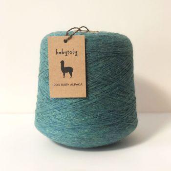 100% Baby Alpaca Yarn - Pinegreen