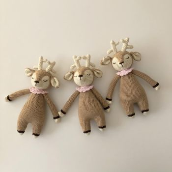 "Baby Deer 9.8"" - 25 cm - (no flowers)"