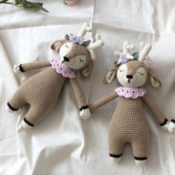 """Baby Deer 9.8"""" - 25 cm"""