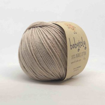 Organic Cotton Yarn - BEIGE