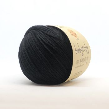 Organic Cotton Yarn - BLACK