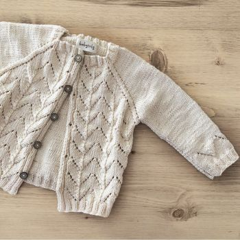Blossom Cardigan - Natural