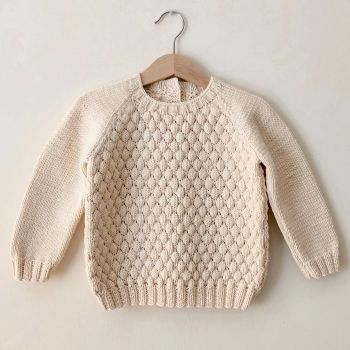 Bubble Sweater - Natural
