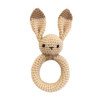"Bunny Teether 6"" - 15 cm"