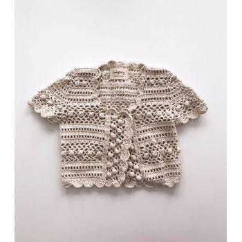 Callie Crochet Vest