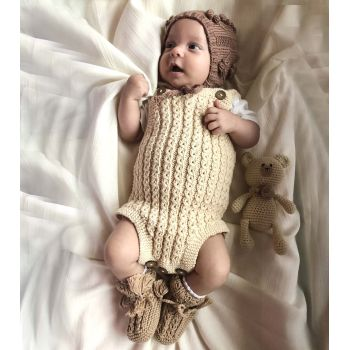 Carmina Romper - natural, golden brown, cinnamon