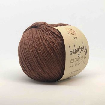 Organic Cotton Yarn - CHOCOLATE