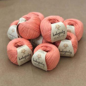 10 Yarn Bundle - Coral