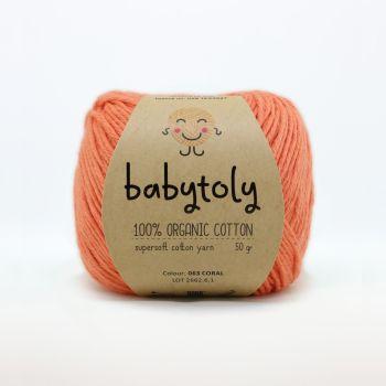 Organic Cotton Yarn - CORAL