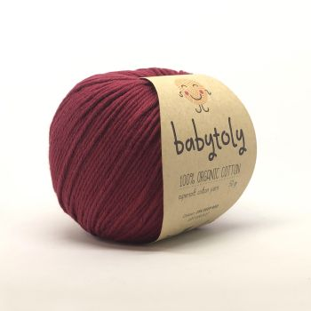 Organic Cotton Yarn - DEEP RED