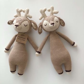"Deer Sleep Friend - 14"" - 35 cm"