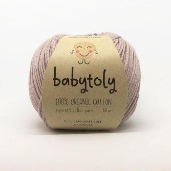 Organic Cotton Yarn - DUSTY ROSE