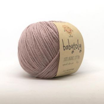 Organic Cotton Yarn - DUSTY ROSE