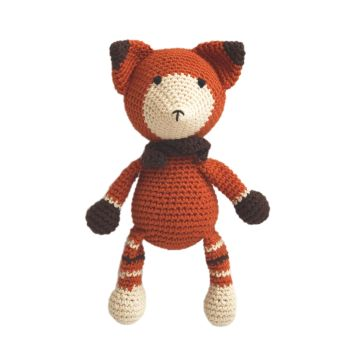"Crochet Toy - Fox 9.5"" - 24 cm"