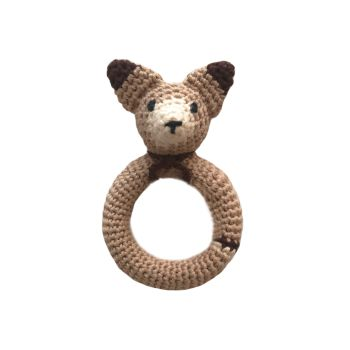"Fox Teether 4.7"" - 12 cm"