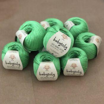 10 Yarn Bundle - Green Apple