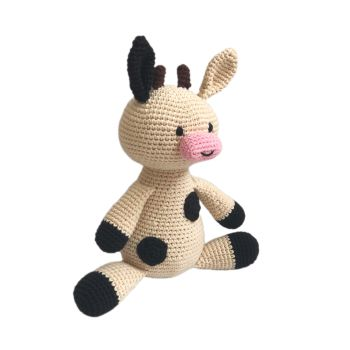 "Crochet Toy Cow 12"" - 30 cm"