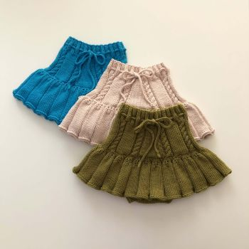 Ivy Skirt - olive, powder pink, ocean