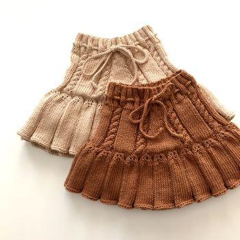 Ivy Skirt - New, terracotta, ecru