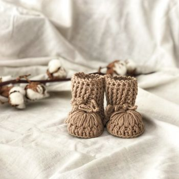 Ivy Booties - birch, marigold, mulberry