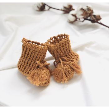 Ivy Booties - Golden Brown