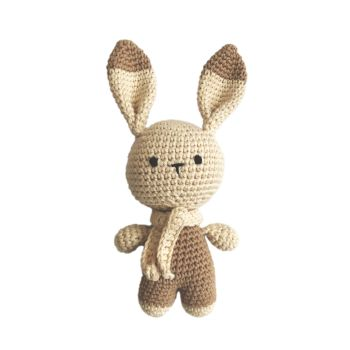 "Crochet Toy Little Bunny 8"" - 21 cm"