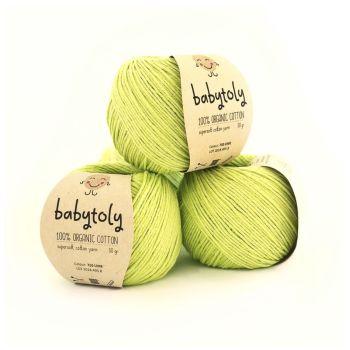 10 Yarn Bundle - Lime