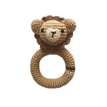 "Lion Teether 4.7"" - 12 cm"