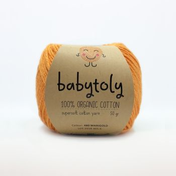 Organic Cotton Yarn - MARIGOLD