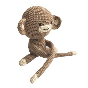 """Handmade Toy - Monkey 8"""" - 20 cm"""