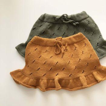 Mies Skirt - golden brown, sage, various colors