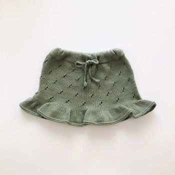 Mies Skirt -mint, golden brown, sage, natural and various colors