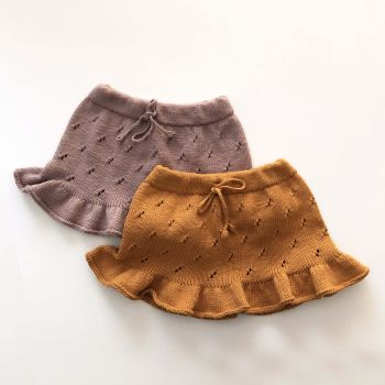 Mies Skirt - golden brown, dusty rose, select colors