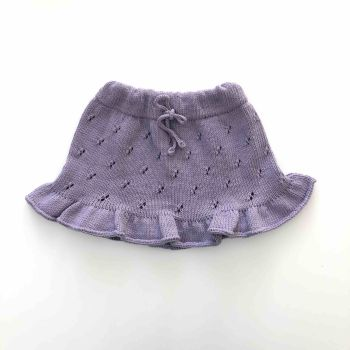 Mies Skirt - lavender, silver and natural