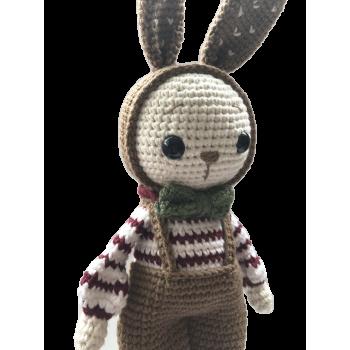 "Crochet Toy Miti Bunny 11"" - 28 cm"