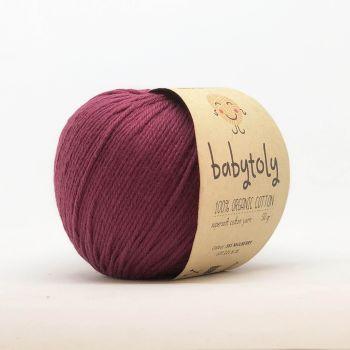Organic Cotton Yarn - MULBERRY