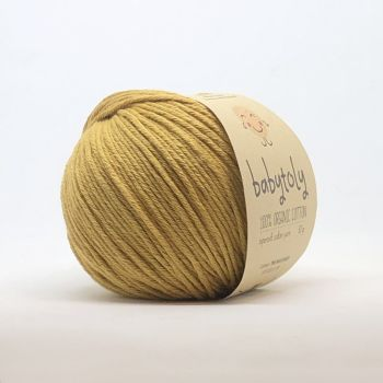 Organic Cotton Yarn - MUSTARD