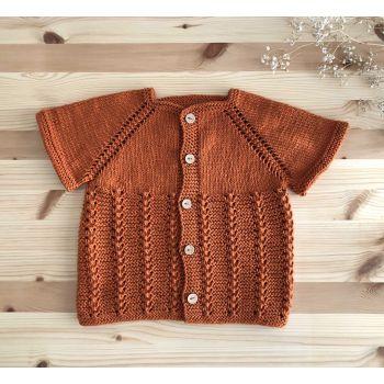 Myra Vest - Cinnamon