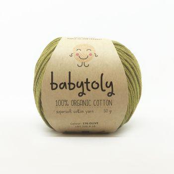 Organic Cotton Yarn - OLIVE