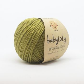 Organic Cotton Yarn - OLIVE