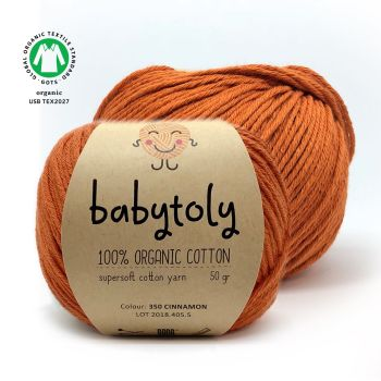 Organic Cotton Yarn - CINNAMON
