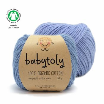 Organic Cotton Yarn - SERENITY