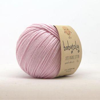 Organic Cotton Yarn - PASTEL PINK