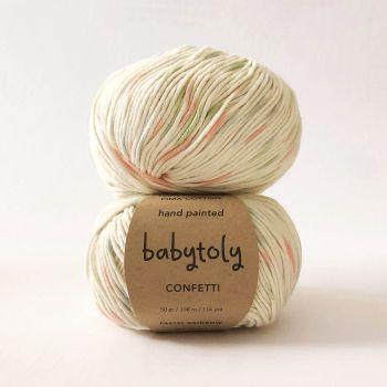 100% Peruvian Pima Cotton Yarn - PASTEL RAINBOW