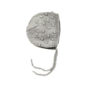 Popcorn Bonnet - Silver