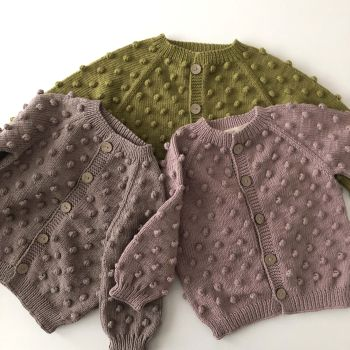 Popcorn Cardigan - *new colors